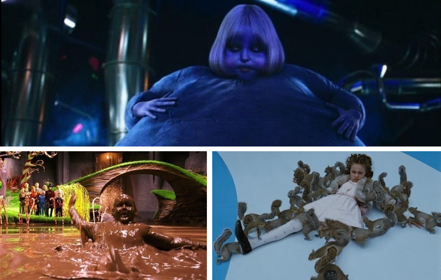 From Tim Burton's version of Charlie and the Chocolate Factory